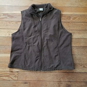Columbia Light zip up Brown Vest
